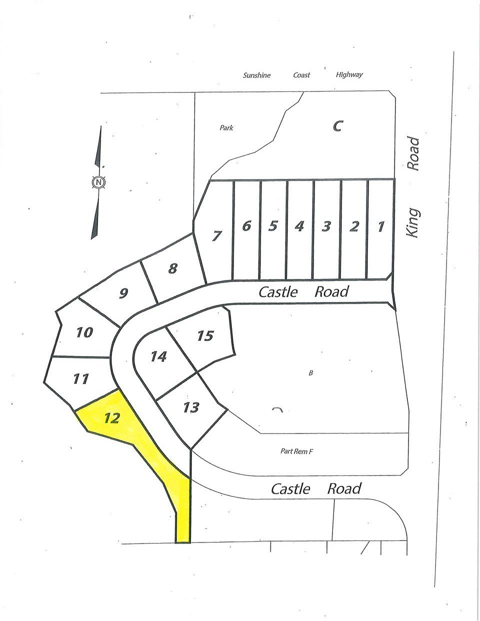 "Main Photo: LOT 12 CASTLE Road in Gibsons: Gibsons & Area Land for sale in ""KING & CASTLE"" (Sunshine Coast)  : MLS®# R2422448"
