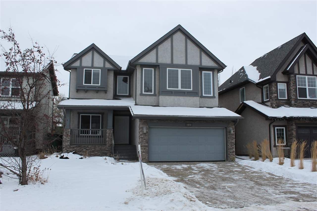 Main Photo: 1672 HECTOR Road in Edmonton: Zone 14 House for sale : MLS®# E4183407