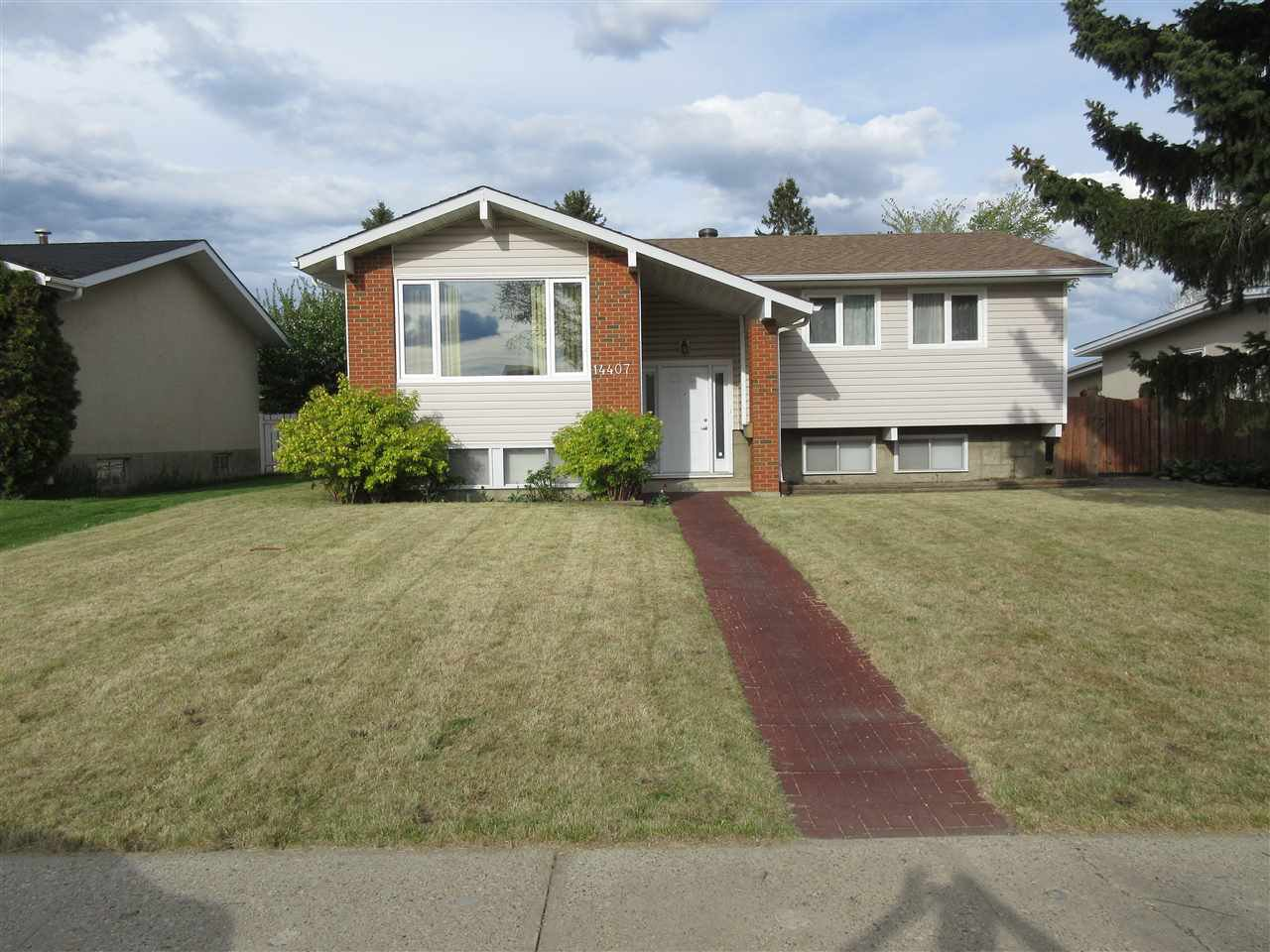 Main Photo: 14407 87 Street in Edmonton: Zone 02 House for sale : MLS®# E4198577