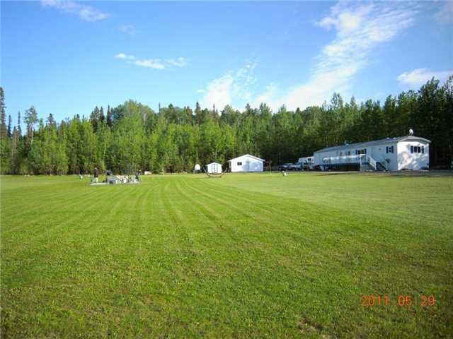 "Main Photo: 23 FEDIW Road in Fort Nelson: Fort Nelson - Rural Manufactured Home for sale in ""FEDIW"" (Fort Nelson (Zone 64))  : MLS®# N214864"