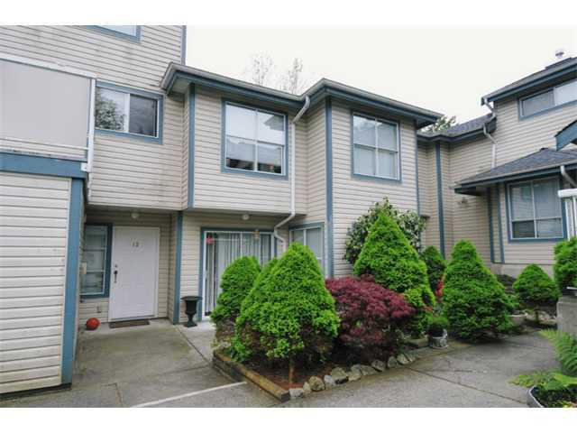 Main Photo: 14 1838 HARBOUR Street in Port Coquitlam: Citadel PQ Townhouse for sale : MLS®# V924766