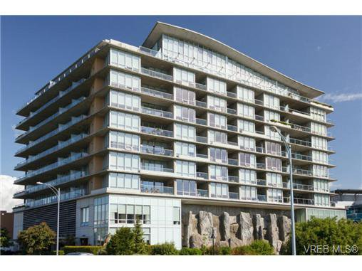 Main Photo: 605 160 Wilson St in VICTORIA: VW Victoria West Condo for sale (Victoria West)  : MLS®# 690523