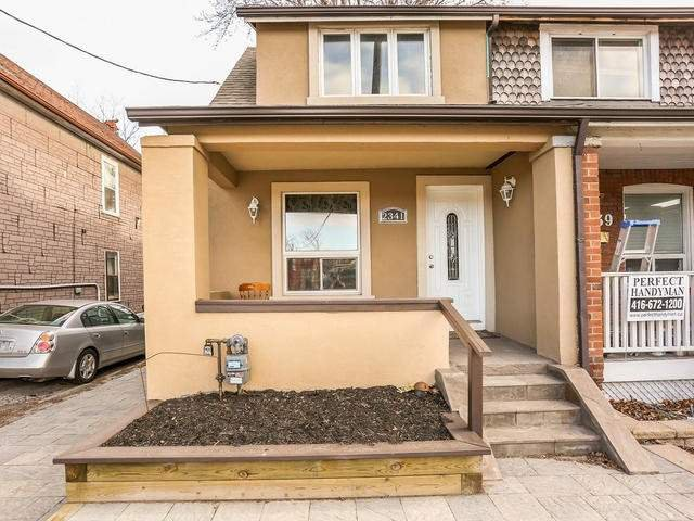 Photo 1: Photos: 2341 E Gerrard Street in Toronto: East End-Danforth House (2-Storey) for lease (Toronto E02)  : MLS®# E3446045