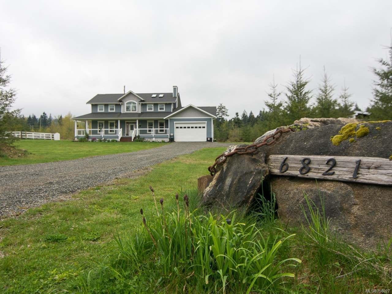 Main Photo: 6821 FARNHAM ROAD in MERVILLE: CV Merville Black Creek House for sale (Comox Valley)  : MLS®# 758027
