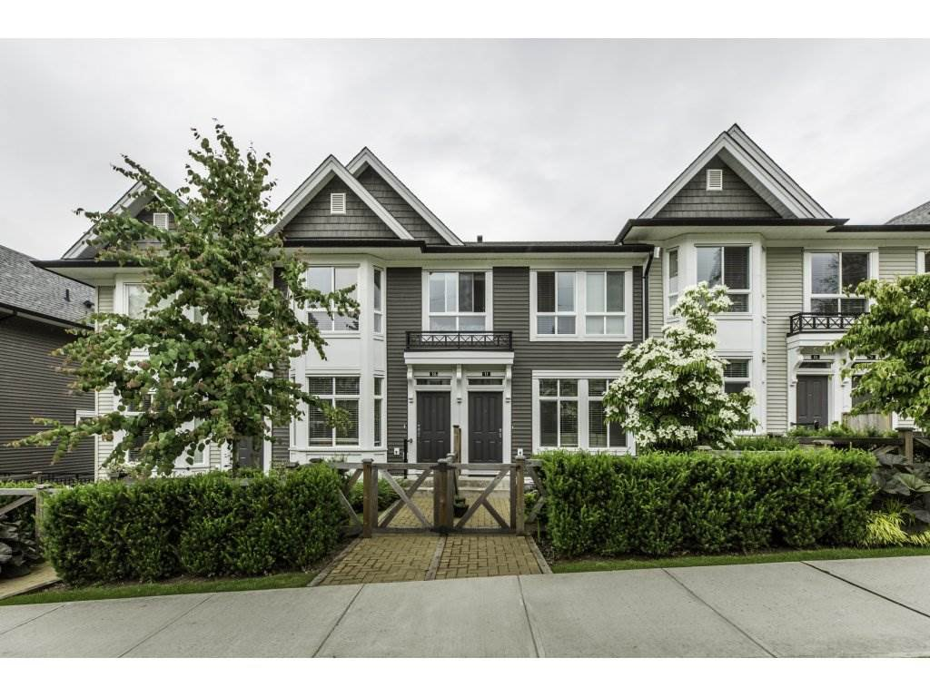 "Main Photo: 11 14433 60 Avenue in Surrey: Sullivan Station Townhouse for sale in ""BRIXTON"" : MLS®# R2179960"