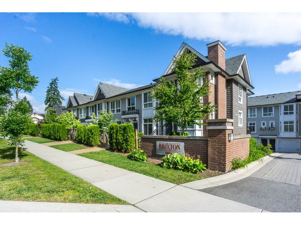 "Main Photo: 3 14433 60 Avenue in Surrey: Sullivan Station Townhouse for sale in ""BRIXTON"" : MLS®# R2180225"