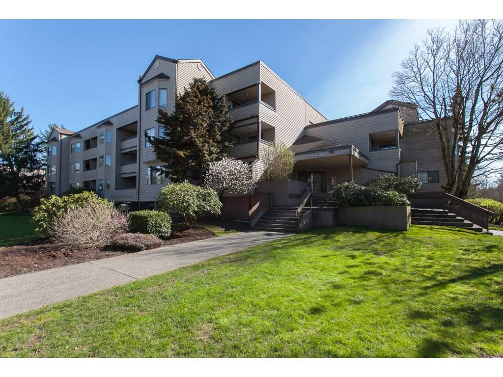 "Main Photo: 112 5294 204 Street in Langley: Langley City Condo for sale in ""Waters Edge"" : MLS®# R2228794"