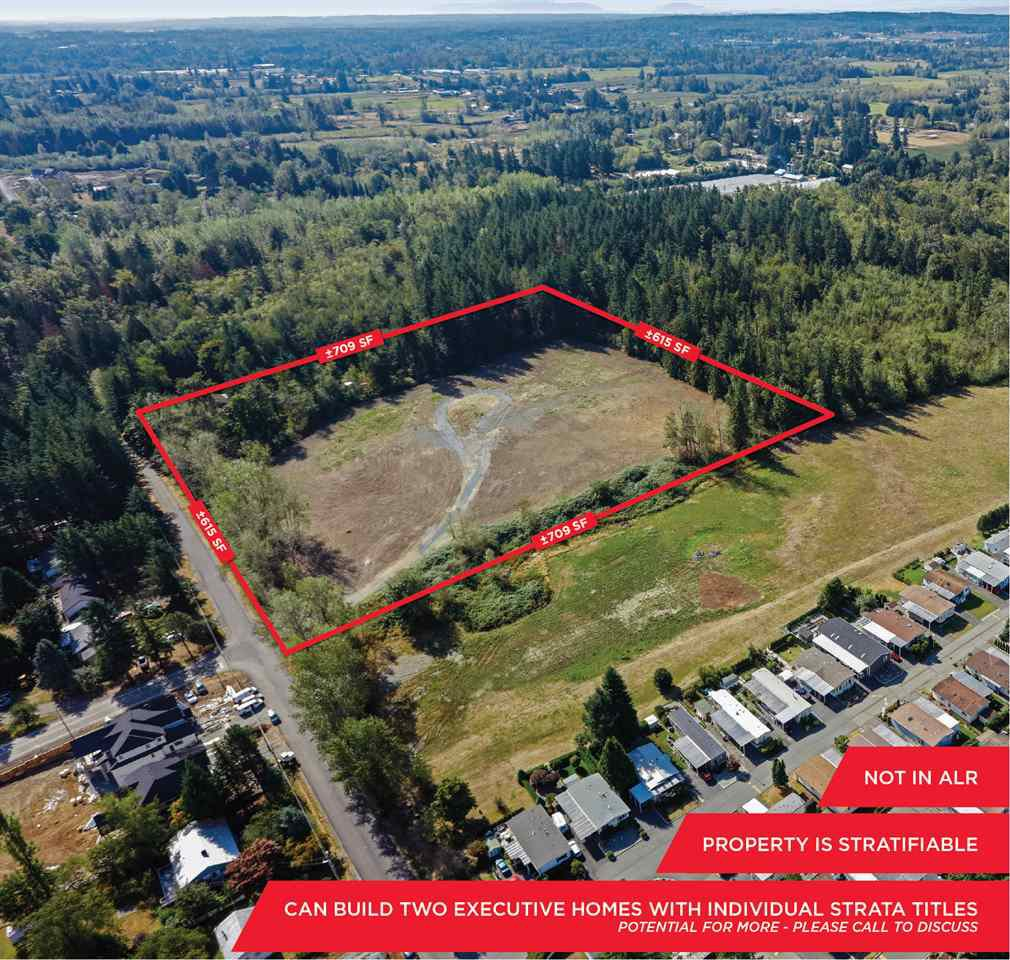 """Main Photo: 10AC 244 Street in Langley: Campbell Valley Land for sale in """"Campbell Valley"""" : MLS®# R2380594"""