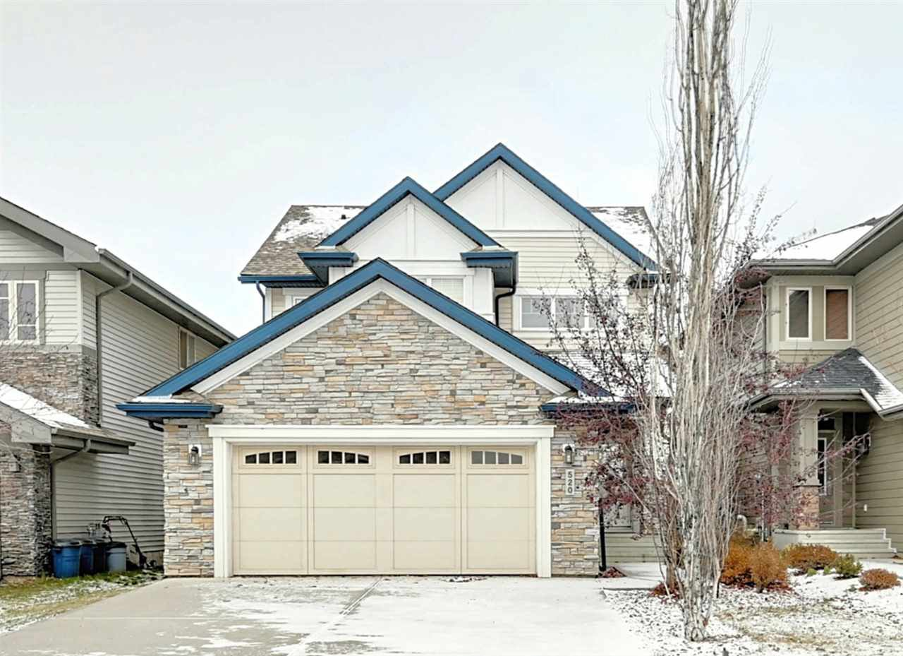 Main Photo: 520 ADAMS Way in Edmonton: Zone 56 House for sale : MLS®# E4183497