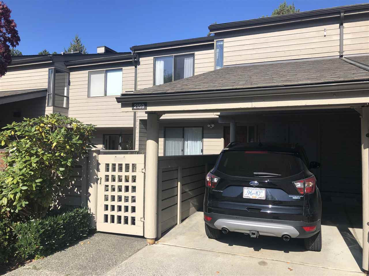 Main Photo: 2159 MCMULLEN Avenue in Vancouver: Quilchena Townhouse for sale (Vancouver West)  : MLS®# R2455599
