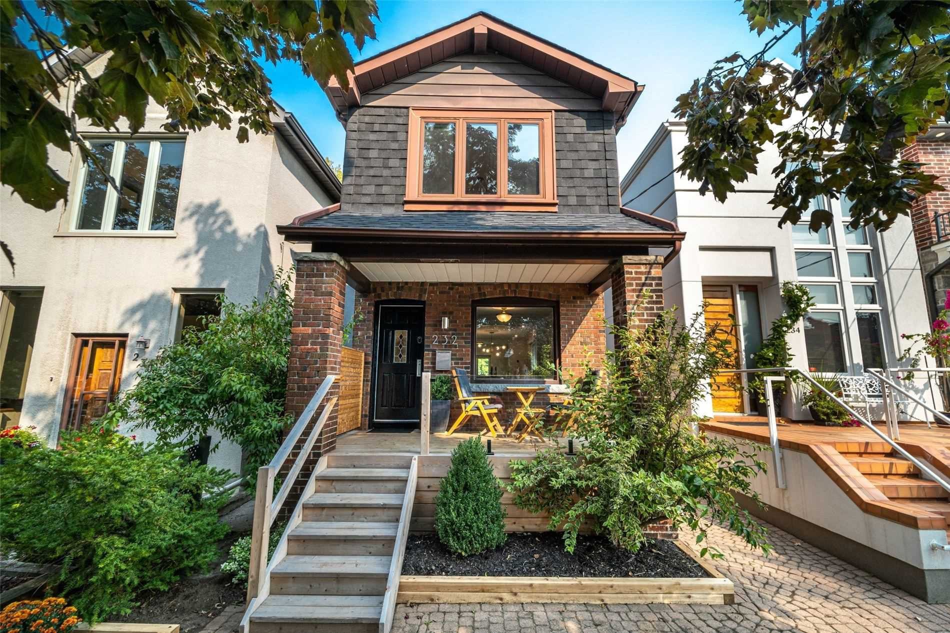 Main Photo: 232 Fulton Avenue in Toronto: Playter Estates-Danforth House (2-Storey) for sale (Toronto E03)  : MLS®# E4912894
