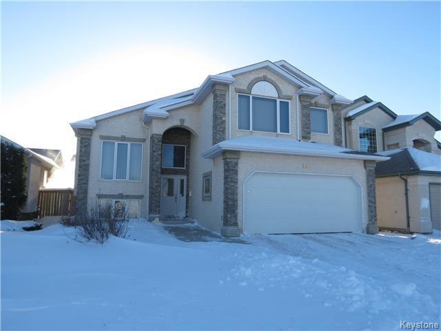 Main Photo: 250 Bairdmore Boulevard in WINNIPEG: Fort Garry / Whyte Ridge / St Norbert Residential for sale (South Winnipeg)  : MLS®# 1400716