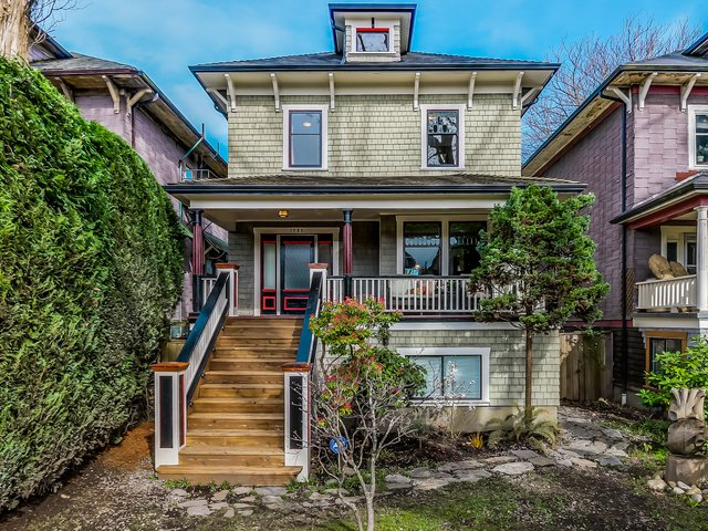 Main Photo: 1737 E 7TH Avenue in Vancouver: Grandview VE House for sale (Vancouver East)  : MLS®# V1111153