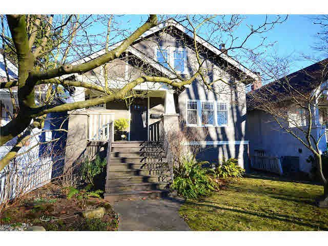 Main Photo: 3867 W 16TH AVENUE in : Point Grey House for sale : MLS®# V1046287