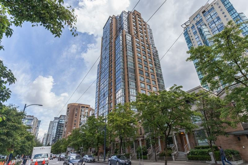 Main Photo: 1207 1188 RICHARDS Street in Vancouver: Yaletown Condo for sale (Vancouver West)  : MLS®# R2082285