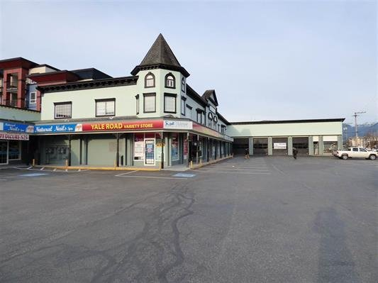 Main Photo: 101 45863 YALE Road in Chilliwack: Chilliwack W Young-Well Retail for lease : MLS®# C8011490
