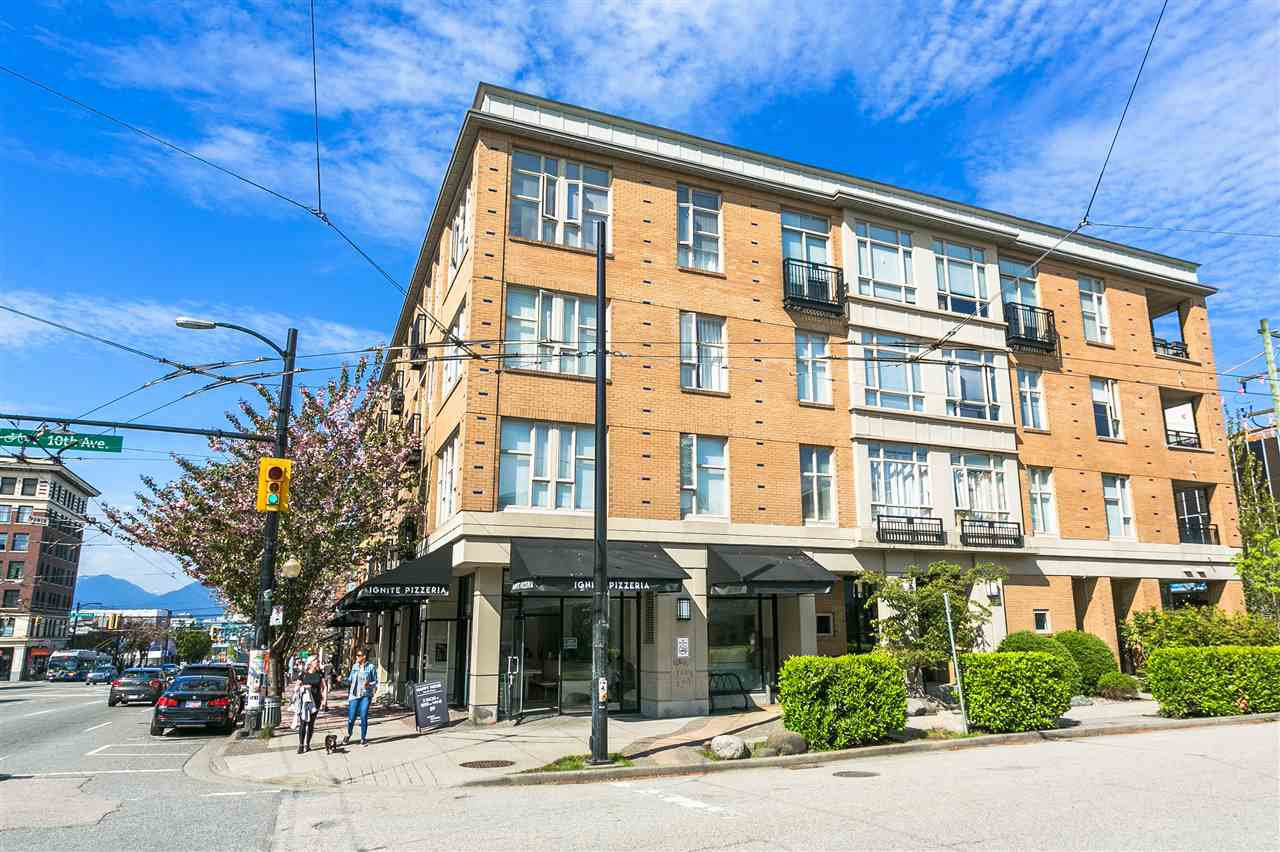 """Main Photo: 407 205 E 10TH Avenue in Vancouver: Mount Pleasant VE Condo for sale in """"THE HUB"""" (Vancouver East)  : MLS®# R2265537"""