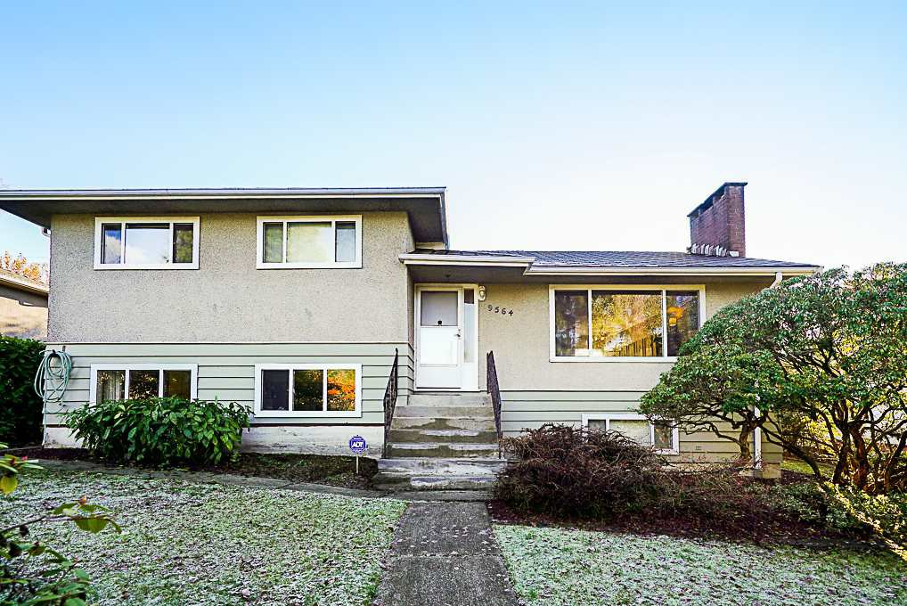 Main Photo: 9564 DAVID Drive in Burnaby: Sullivan Heights House for sale (Burnaby North)  : MLS®# R2326389
