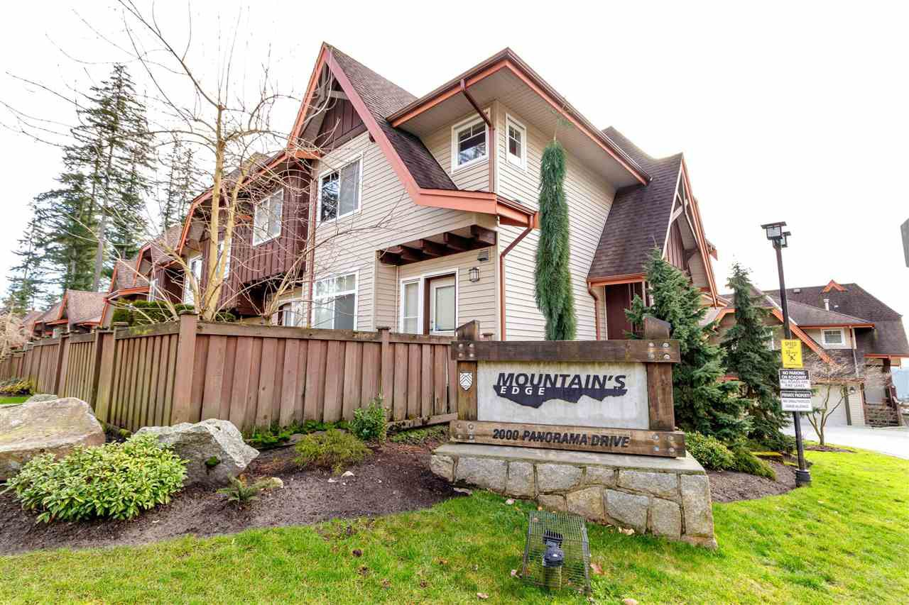 """Photo 2: Photos: 148 2000 PANORAMA Drive in Port Moody: Heritage Woods PM Townhouse for sale in """"MOUNTAINS EDGE"""" : MLS®# R2354623"""