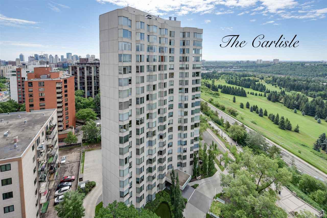 Main Photo: 1801 11826 100 Avenue in Edmonton: Zone 12 Condo for sale : MLS®# E4170722