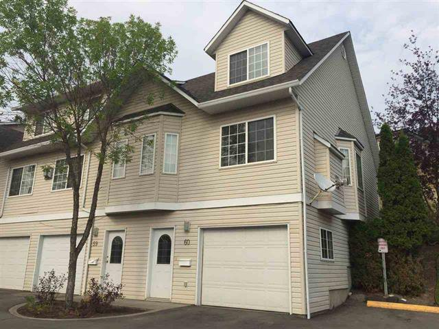 Main Photo: 60 350 Pearkes Drive in Williams Lake: Townhouse for sale : MLS®# R2199277