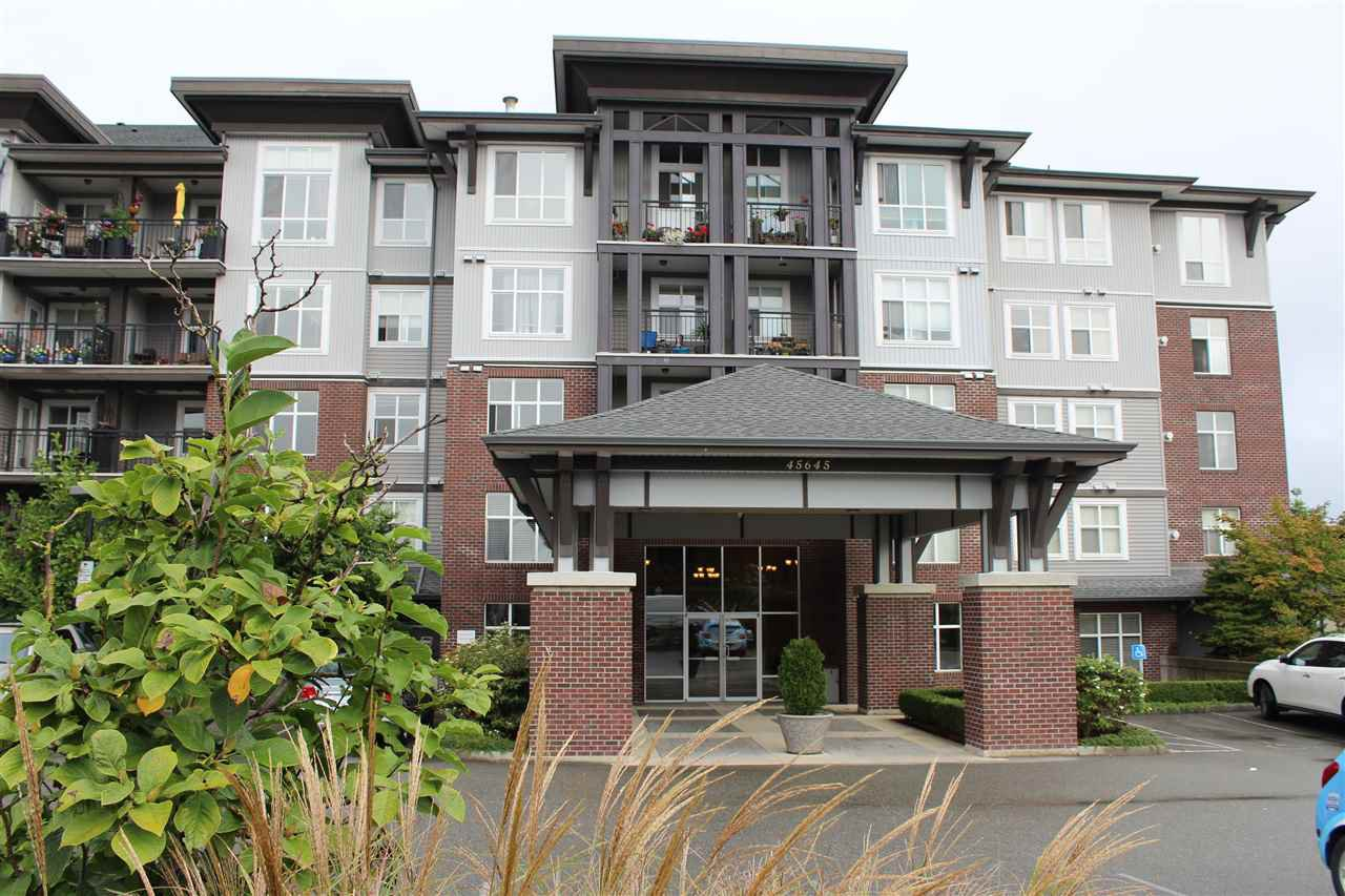 "Main Photo: 202 45645 KNIGHT Road in Sardis: Sardis West Vedder Rd Condo for sale in ""Cotton Ridge"" : MLS®# R2433390"
