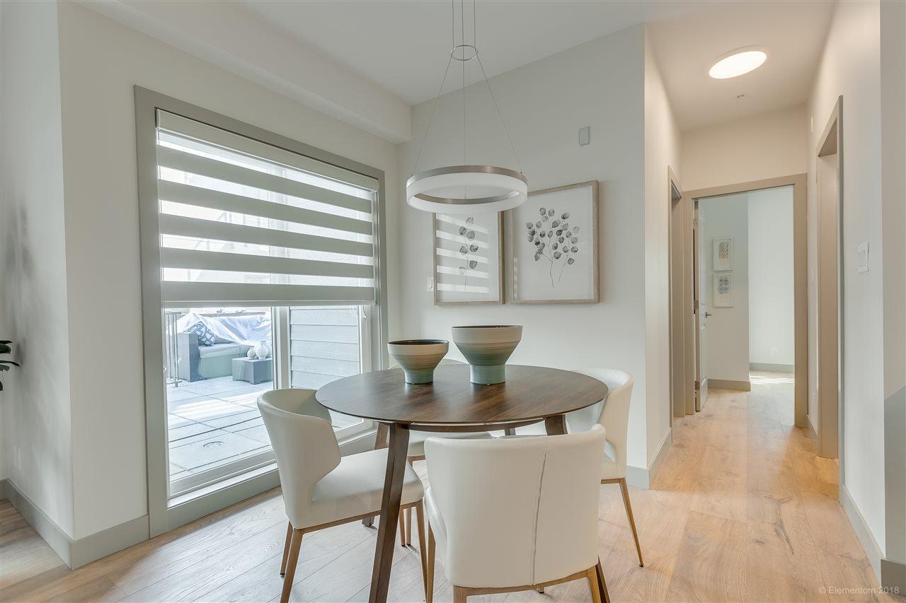 "Main Photo: 209 6968 ROYAL OAK Avenue in Burnaby: Metrotown Condo for sale in ""SAAVIN"" (Burnaby South)  : MLS®# R2526590"