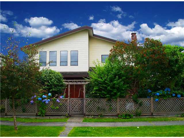 Main Photo: 2726 W 17TH Avenue in Vancouver: Arbutus House for sale (Vancouver West)  : MLS®# V902269