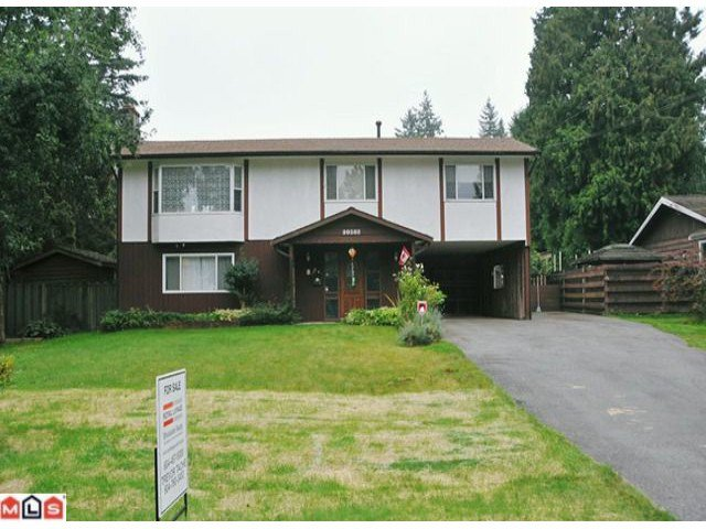 "Main Photo: 20508 42A Avenue in Langley: Brookswood Langley House for sale in ""BROOKSWOOD"" : MLS®# F1124582"