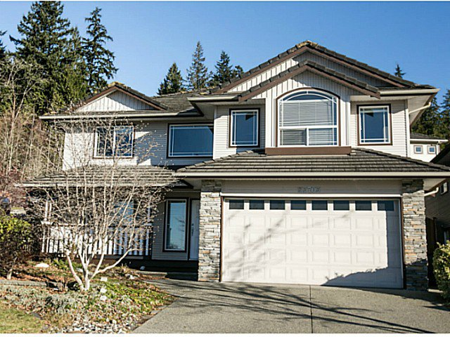 "Main Photo: 23703 BOULDER Place in Maple Ridge: Silver Valley House for sale in ""ROCKRIDGE ESTATES"" : MLS®# V1099401"