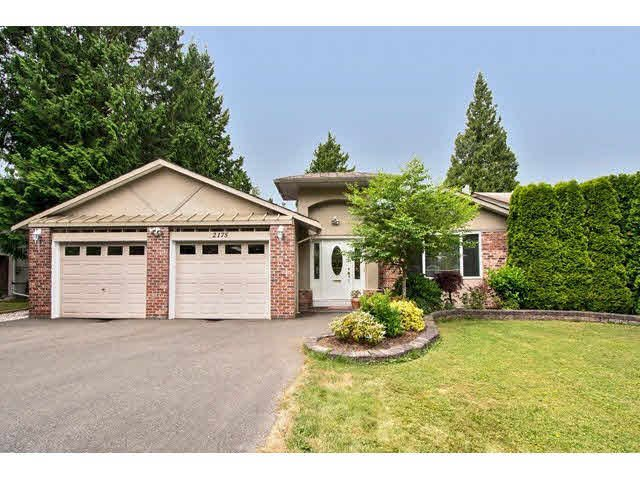 "Main Photo: 2175 127A Street in Surrey: Crescent Bch Ocean Pk. House for sale in ""OCEAN PARK"" (South Surrey White Rock)  : MLS®# F1444516"