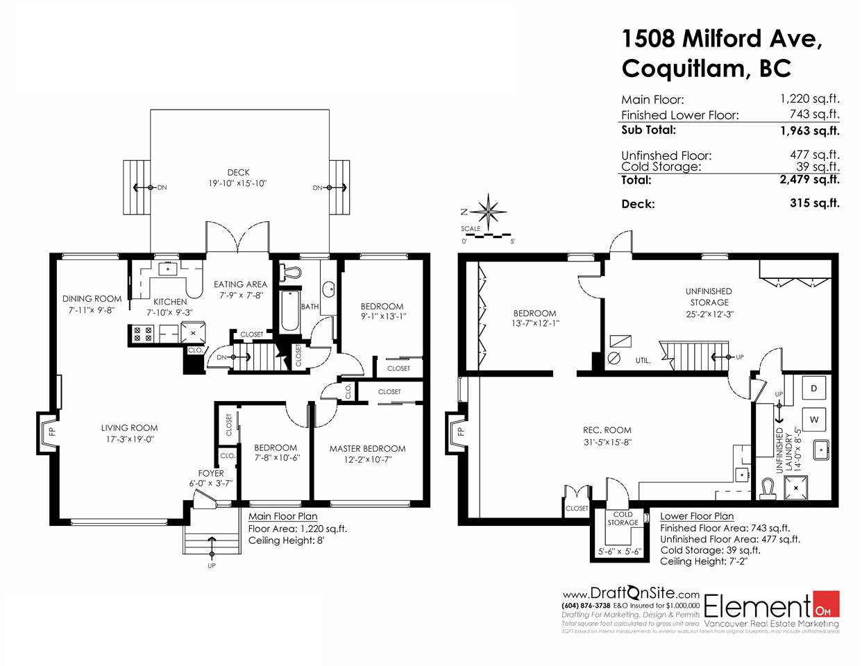 Photo 20: Photos: 1508 MILFORD Avenue in Coquitlam: Central Coquitlam House for sale : MLS®# R2050796