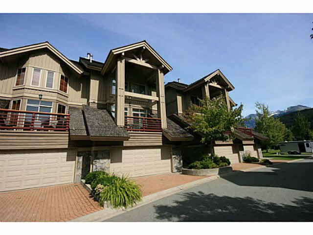 """Main Photo: 17 8030 NICKLAUS NORTH Boulevard in Whistler: Green Lake Estates Townhouse for sale in """"ENGLEWOOD GREEN"""" : MLS®# R2082730"""