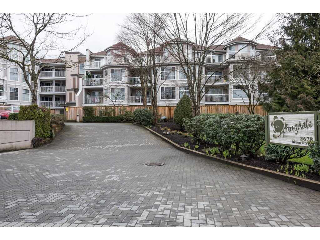 "Main Photo: 309 2678 DIXON Street in Port Coquitlam: Central Pt Coquitlam Condo for sale in ""SPRINGDALE"" : MLS®# R2149787"