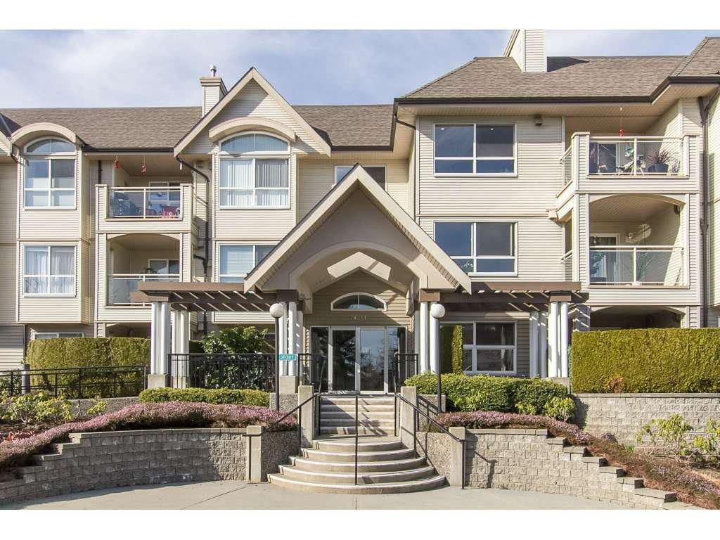 "Main Photo: 210 20381 96 Avenue in Langley: Walnut Grove Condo for sale in ""Chelsea Green"" : MLS®# R2244248"