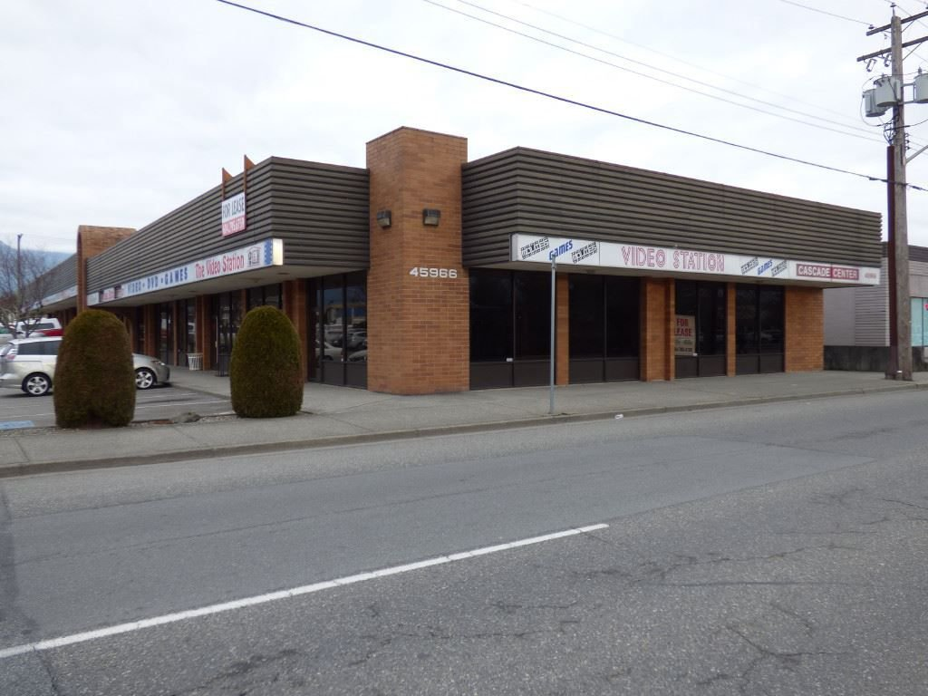 Main Photo: 11 45966 YALE Road in Chilliwack: Chilliwack W Young-Well Retail for lease : MLS®# C8021651