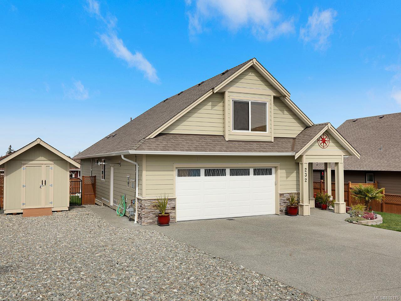 Main Photo: 232 Michigan Dr in CAMPBELL RIVER: CR Willow Point House for sale (Campbell River)  : MLS®# 810175