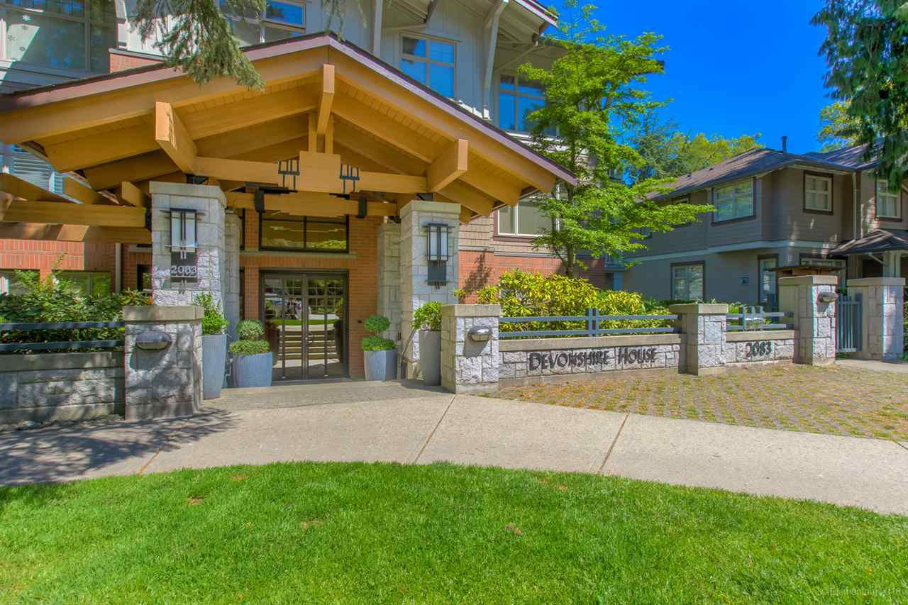 "Main Photo: 417 2083 W 33RD Avenue in Vancouver: Quilchena Condo for sale in ""DEVONSHIRE HOUSE"" (Vancouver West)  : MLS®# R2370280"
