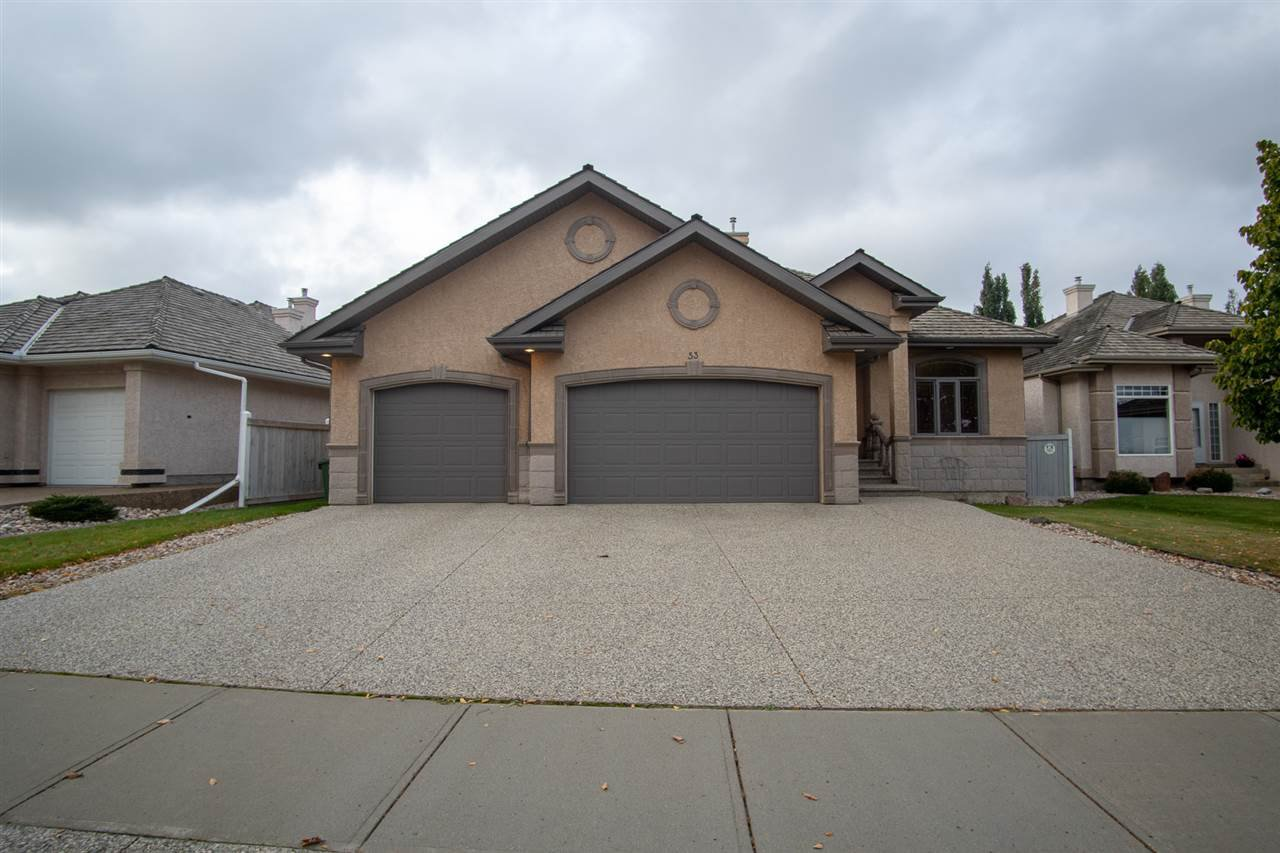 Main Photo: 53 KINGSWAY Drive: St. Albert House for sale : MLS®# E4173469