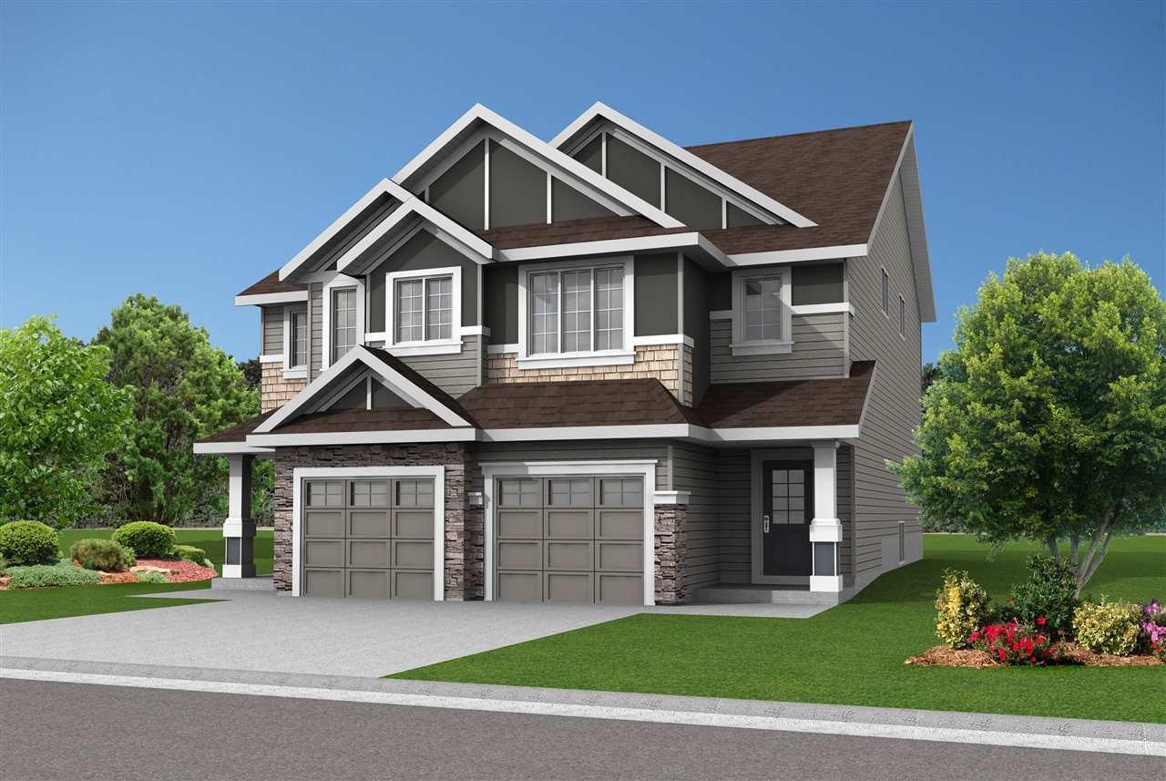Main Photo: 2117 86 Street in Edmonton: Zone 53 House Half Duplex for sale : MLS®# E4175875