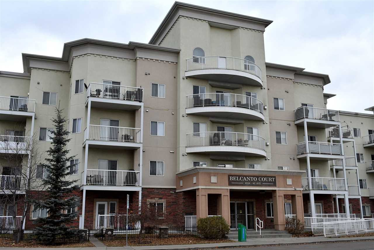 Main Photo: 427 8528 82 Avenue in Edmonton: Zone 18 Condo for sale : MLS®# E4178967