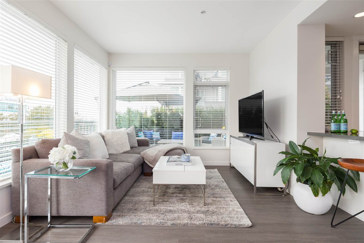 """Main Photo: 109 255 W 1ST Street in North Vancouver: Lower Lonsdale Condo for sale in """"WEST QUAY"""" : MLS®# R2508512"""