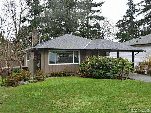 Main Photo: 1299 Camrose Cres in VICTORIA: SE Maplewood House for sale (Saanich East)  : MLS®# 693625