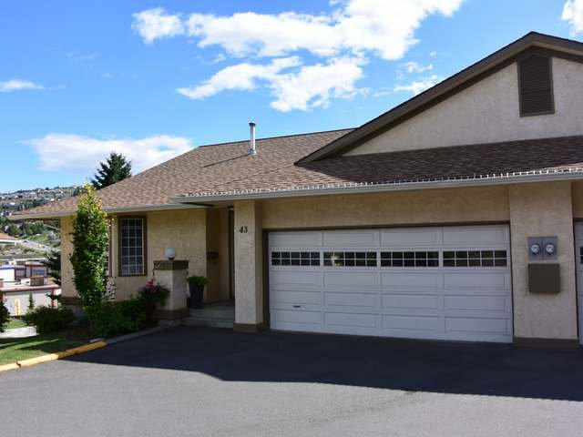 Main Photo: 43 1750 PACIFIC Way in : Dufferin/Southgate Townhouse for sale (Kamloops)  : MLS®# 129311
