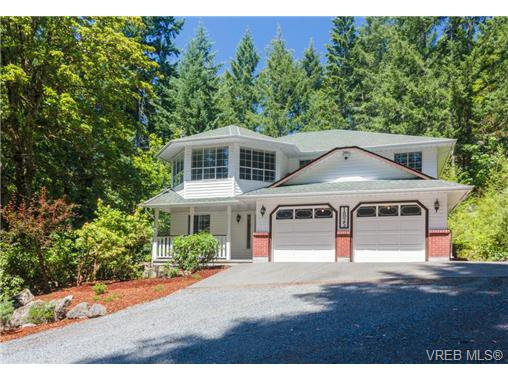 Main Photo: 1825 Cliffside Road in SHAWNIGAN LAKE: ML Shawnigan Lake Single Family Detached for sale (Malahat & Area)  : MLS®# 367166