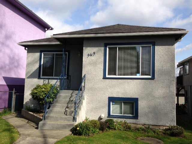 Main Photo: 949 E 24TH AVENUE in : Fraser VE House for sale : MLS®# V1127178