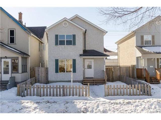 Main Photo: 480 Pritchard Avenue in Winnipeg: North End Residential for sale (4A)  : MLS®# 1704200