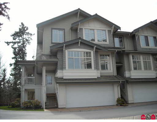 Main Photo: 1 2133 151A STREET in : Sunnyside Park Surrey Townhouse for sale : MLS®# F2902305