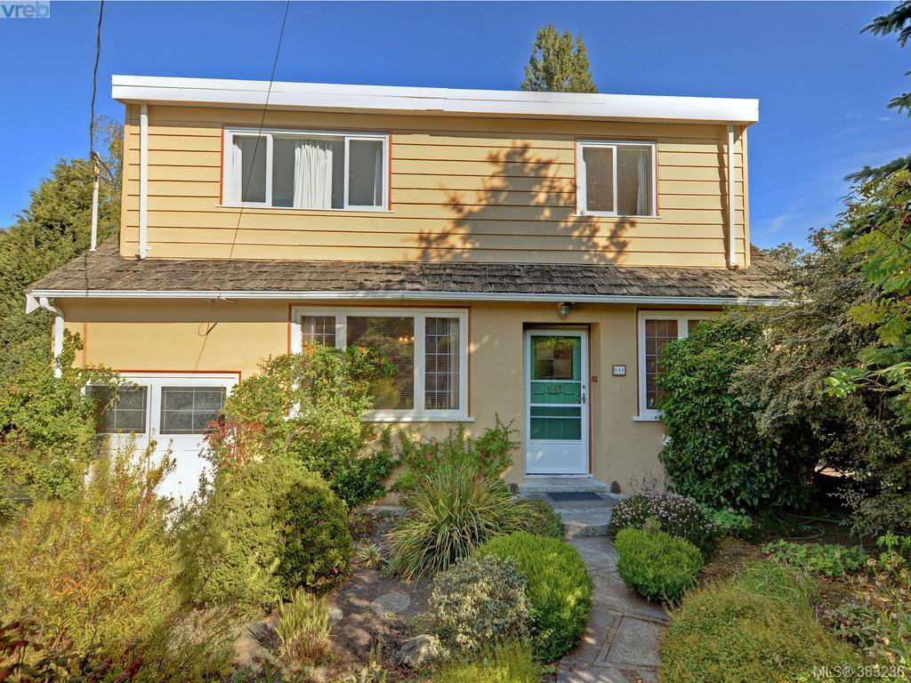 Main Photo: 641 Oliver St in VICTORIA: OB South Oak Bay House for sale (Oak Bay)  : MLS®# 770234