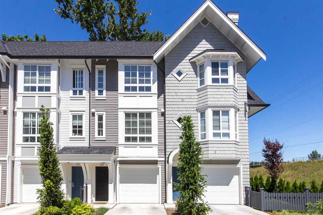 "Main Photo: 77 8476 207A Street in Langley: Willoughby Heights Townhouse for sale in ""YORK By Mosaic"" : MLS®# R2209354"